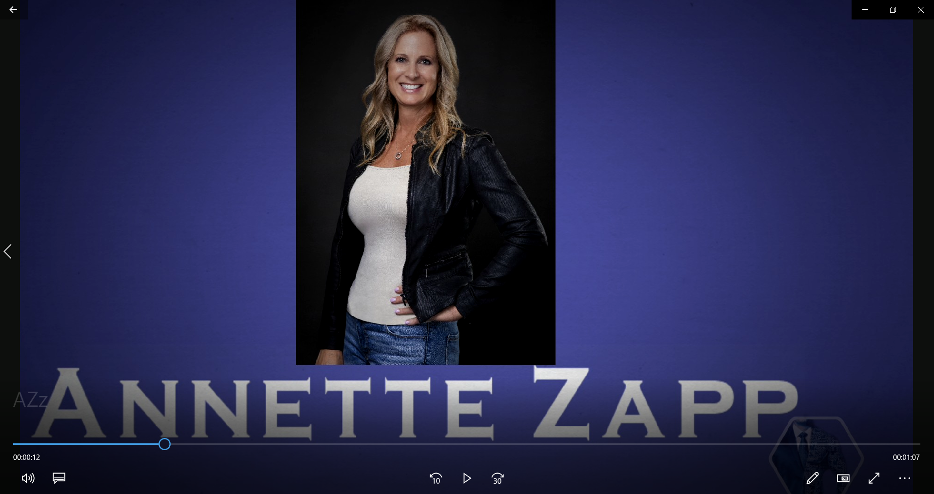 People that inspire KC-performance, vol. 4: Lt. Annette Zapp, MA