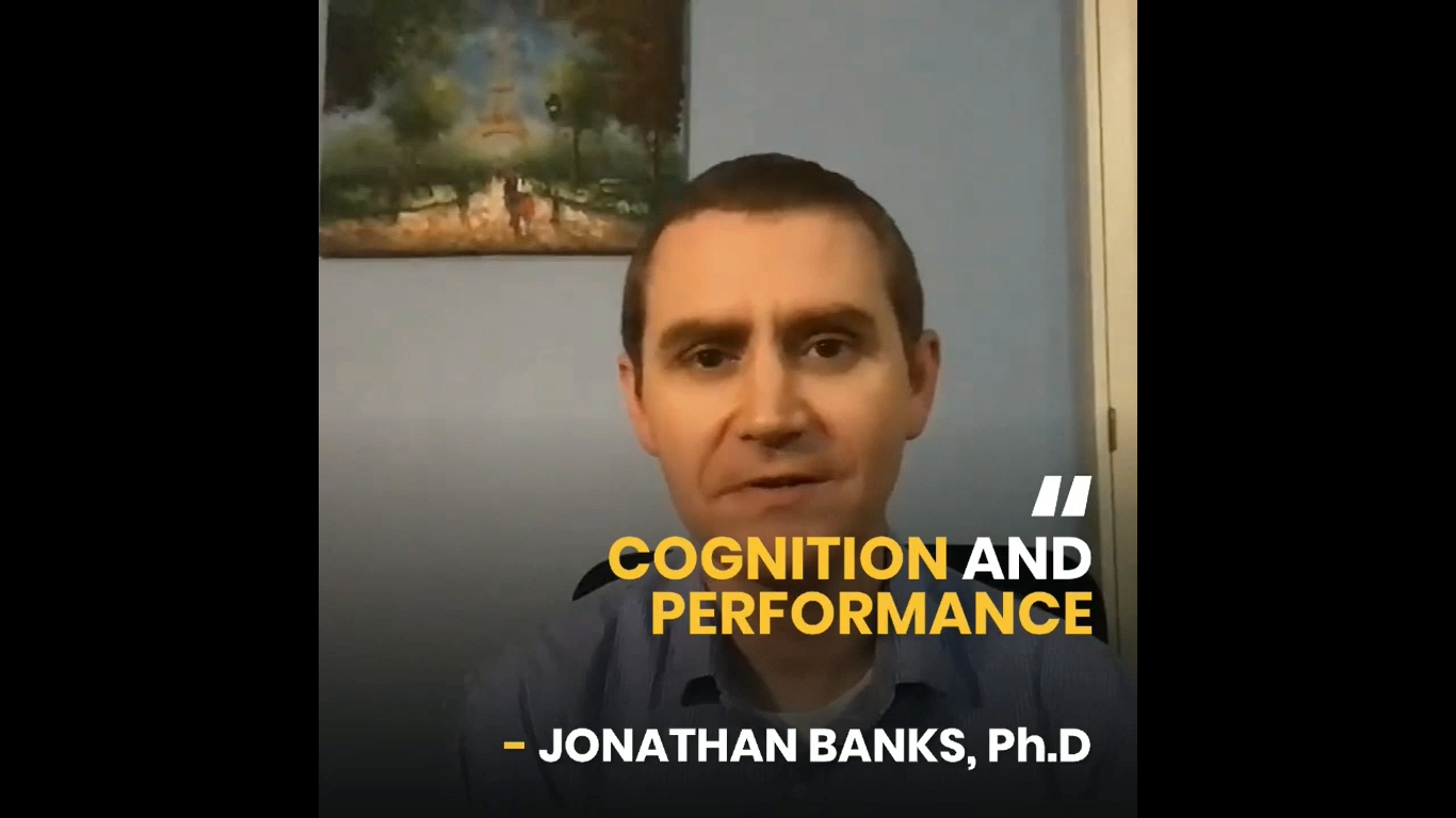 Dr Jonathan Banks- Cognition and Performance: NeuroSports 2021